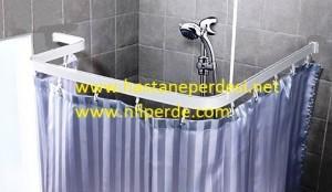 Banyo Rayı ve perdesi